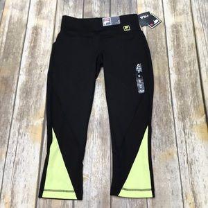 NWT Fila crop leggings.